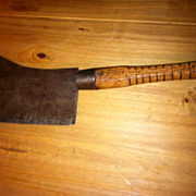 Vintage Meat Cleaver Made in Philadelphia PA By Beatty Edge Tool Co.