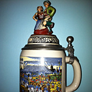 West German Beer Stein Oftoberfeft
