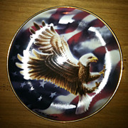 The American Eagle Plate Franklin Mint Limited Edition 1991