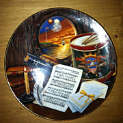 Star Spangled Banner Limited Edition Patriotic Plate by Higgins Bond