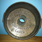 Swans Down Cake Flour Pan 1896  First Production
