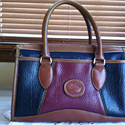 SOLD Vintage Dooney & Bourke All Weather Leather Purse