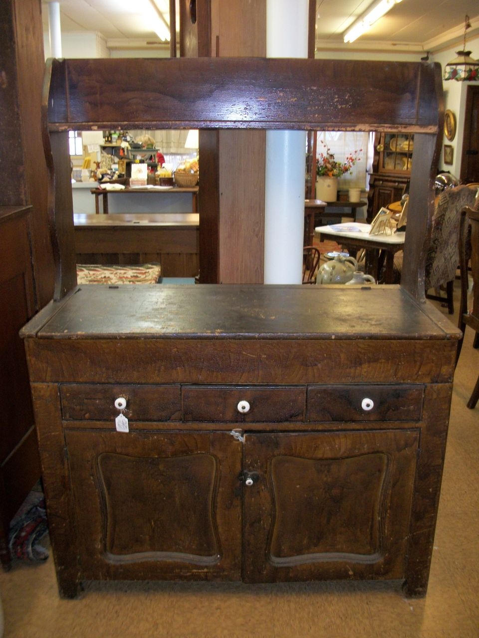 1850/1860 Lebanon County Over-sized Dry Sink