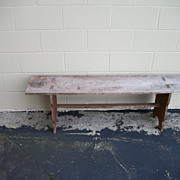 1890's Berks County PA Bench in Unusual Form