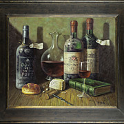 "SOLD ""Still Life"" Original Oil Painting on Canvas"