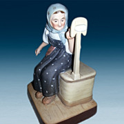 SALE Russian Gardner Factory Figurine
