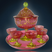 French Sorbet Glass Set