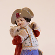 Russian Popov Figurine Boy With Lamb