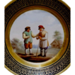 Russian Antique Porcelain Plate From Guriev Service