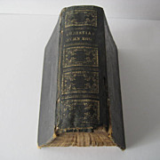 Miniature 1869 Hymnal Book