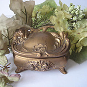 Nouveau Trinket Ring Box