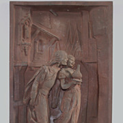 Henry Weisse Sculpture Panel circa 1900