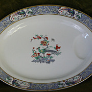 SOLD Theodore Haviland Limoges Rajah Oval Serving Platter French Porcelain