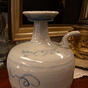 Rare Chinese Export Qing Hand Thrown Wine Jar - Circa 1720