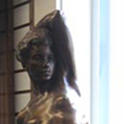 Jean Rado-Thorso Bronze Female Bronze Sculpture