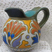 Beautiful Unusual Gouda Pitcher