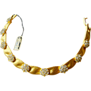 CROWN TRIFARI April Birthday Bracelet
