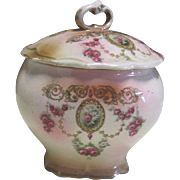 Powder Box-19th Century Porcelain