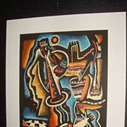Neal Doty  (1941 - ) Serigraph Signed Numbered