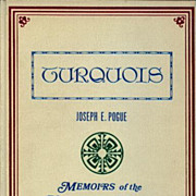 Turquois - Classic Collectors Book - Memoirs of the National Academy of Sciences