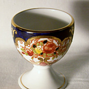 Vintage Royal Albert Bona China Cobalt - Gold - Floral Egg Cup