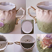 Antique Porcelain Moustache Cup - Circa 1900
