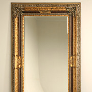 "REDUCED Extra-Large 92 x 36"" Italian Baroque Framed Mirror"
