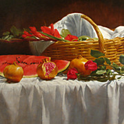 Original oil painting by Thomas