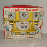 SALE Toy China Tea Set Made in Japan