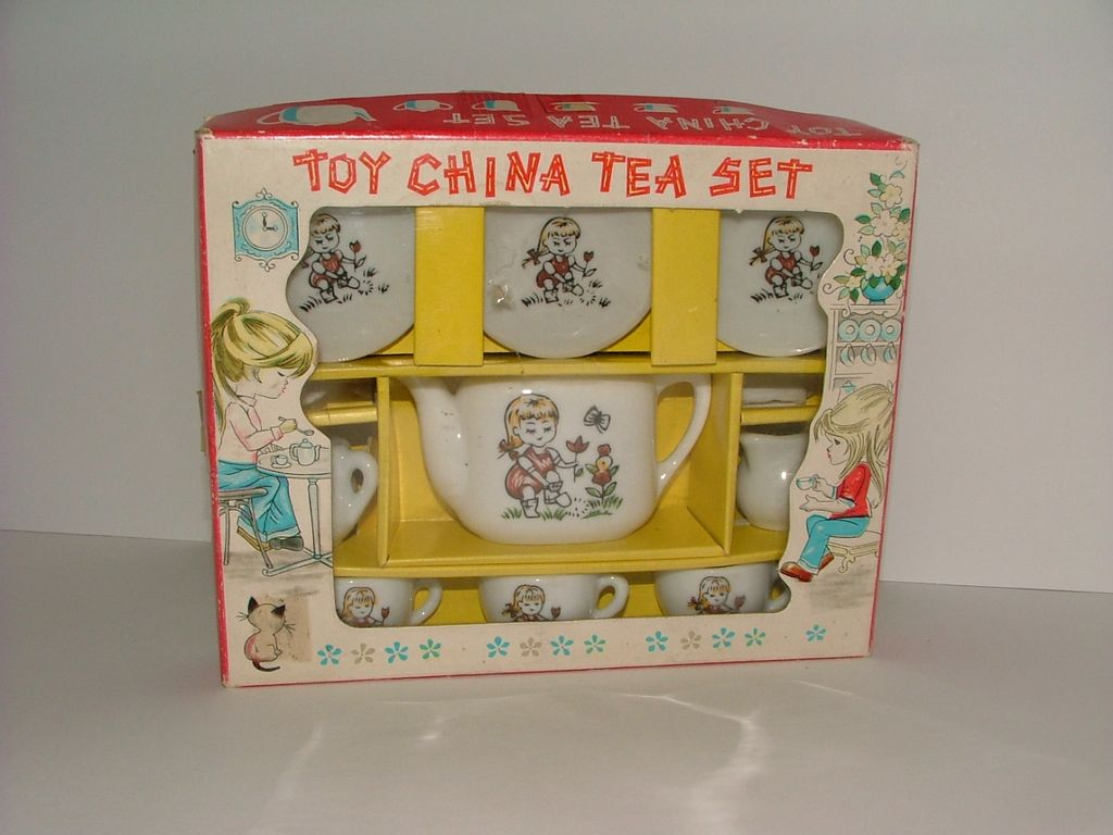 Toy China Tea Set Made in Japan