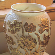 Phoenix Consolildated Mold Blown Glass Vase--Beautiful