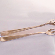 Vintage Gorham Sterling Silver Nocturne Sugar Tongs