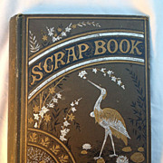 Antique Scrapbook, 1870's, Illustrations, Die Cut