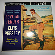 Elvis Presley EPA-4006  Love Me Tender 45 Record