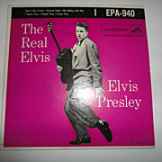Elvis Presley EPA-940 The Real Elvis 45 Record