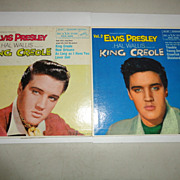 Elvis Presley King Creole Vol. 1 & 2 45 Records EPA-4319 & EPA 4321