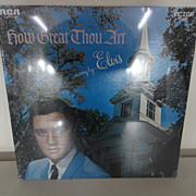 Elvis Presley How Great Thou Art  LSP-3758  Record Album Sealed!