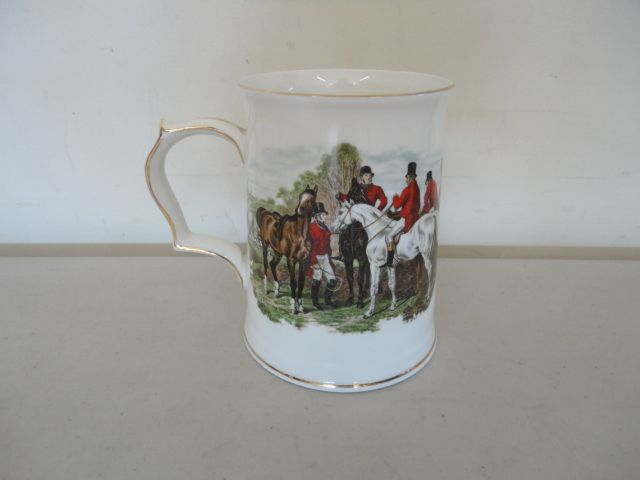 Vintage Hammersley Hunt Scene Large Mug