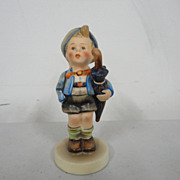 Vintage Goebel Hummel Home From Market Boy with Pig #