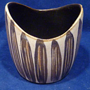 ADY Denmark Hand Decorated Mid-Century Vase