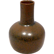REDUCED 1950s Saxbo Denmark Studio Pottery Vase by Eva Staehr-Nielsen