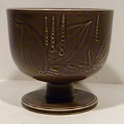 Copenhagen Aluminia Art Deco Pottery Vase