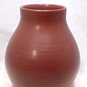 Huge Zanesville Stoneware Co. Art Pottery Vase