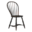 American Painted Bowback Antique Windsor Chair, Early 19th Century