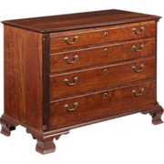 American Chippendale Pennsylvania Chest of Drawers, Late 18th Century c. 1770-1800