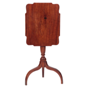 American Federal Period Cherry Antique Candle Stand (Side Table), Mid-Atlantic States c. 1790-
