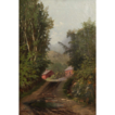 Fine Antique Oil Painting on Canvas, William Raphael R.C.A (Canadian, 1833-1914)