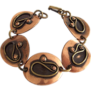 Great Chenet d'Haiti Copper Ovals Bracelet