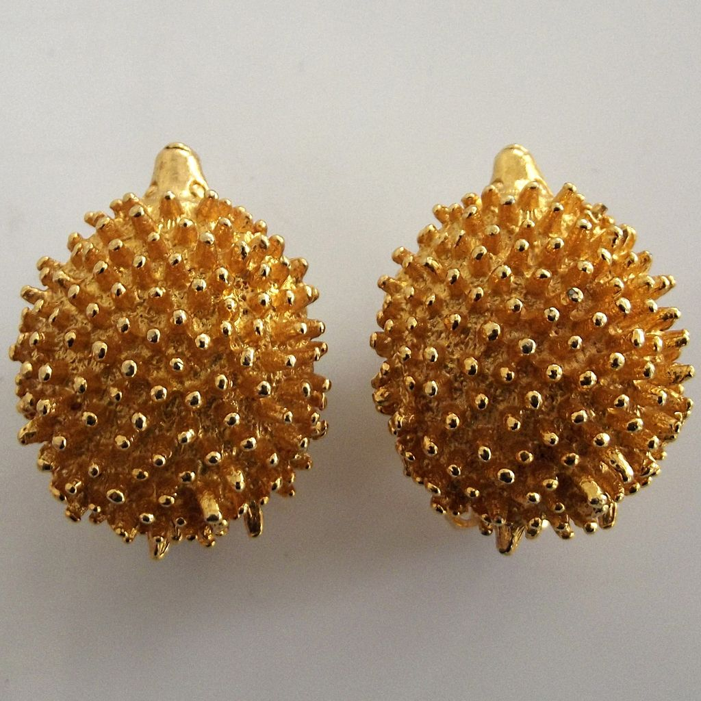 Mimi di N Hedgehog Earrings