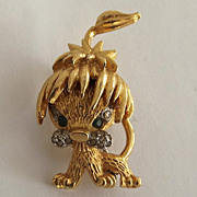 Littlest and Most Ferociously Cute Leo Lion Pin